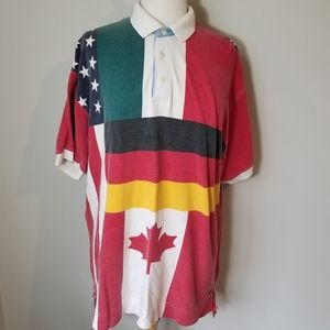 American Eagle Outfitters Polo Shirt Size Large